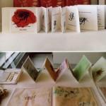Artists books by Hannah Buckley