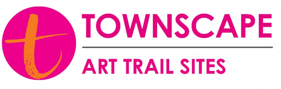 Townscape logo text_art trail sites