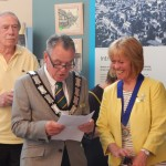 Town Mayor, Cllr Bob Mainstone with Deputy Mayor, Cllr Julie Mockford