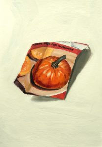 painting of a seed packet by Sheri Gee