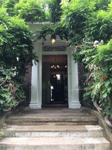 Photo of front door, Burgh House Hampstead