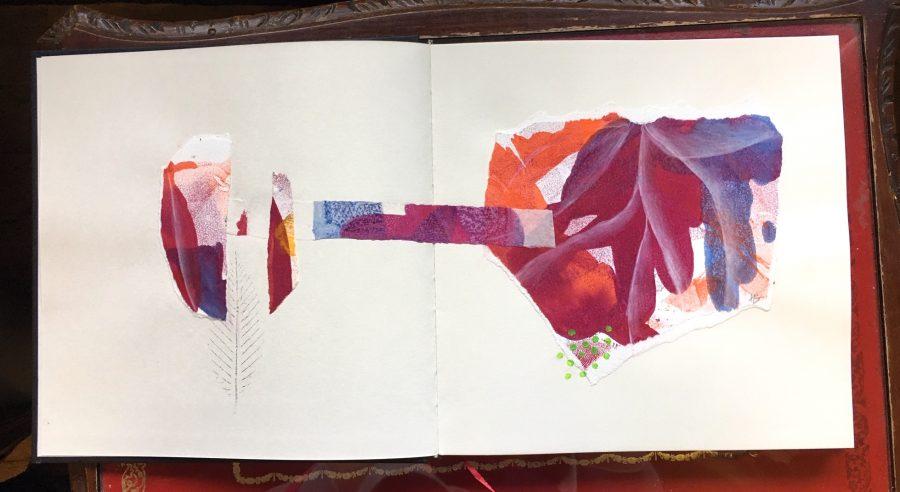 Image of Harriet Brigdale's work in Example's sketchbook circle